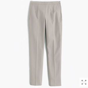 J. Crew Pants - J. Crew Martie slim crop side zip pant cloud gray